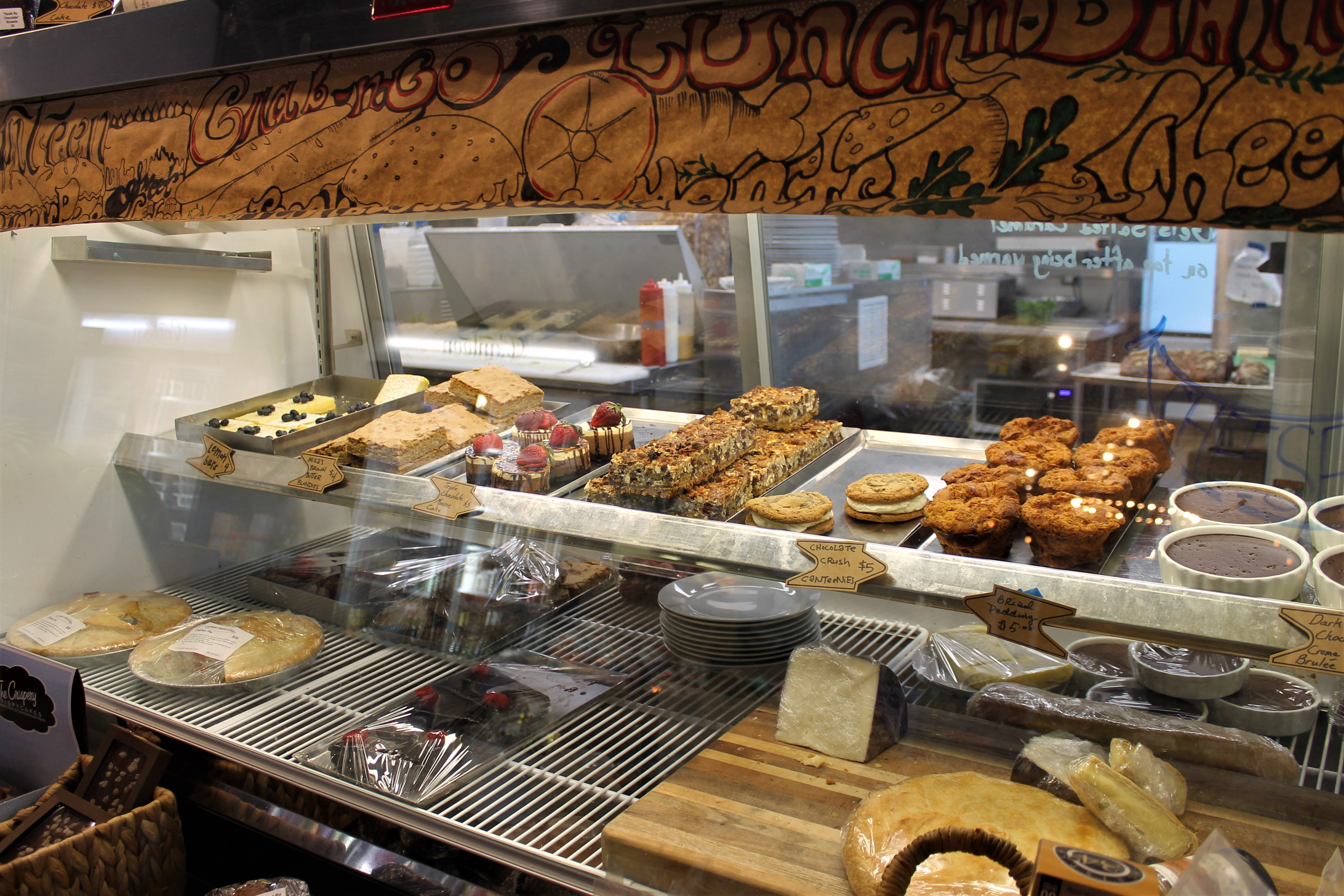 Pastry counter at Canteen Market
