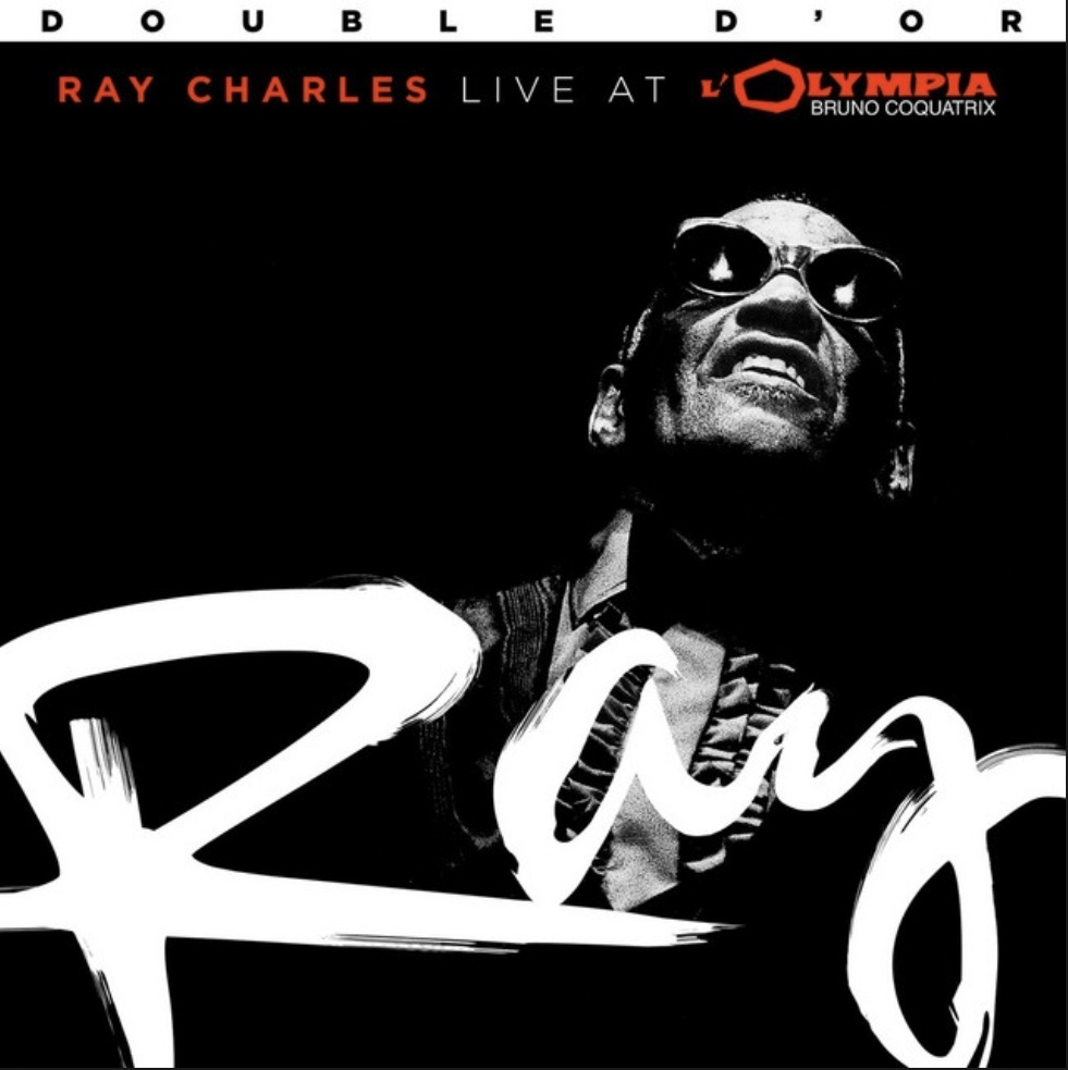 Ray Charles Live at l'Olympia cover