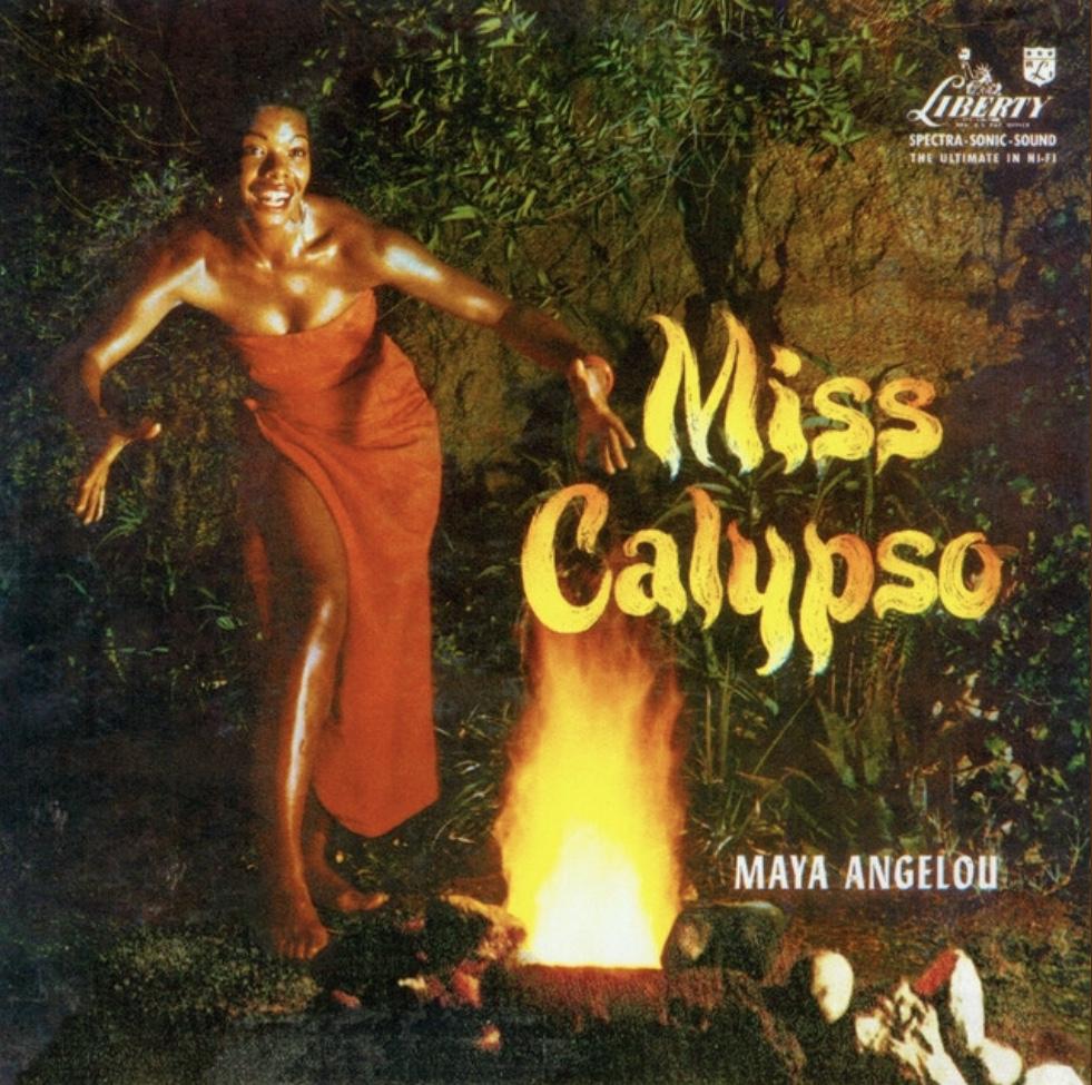 Maya Angelou Miss Calypso Album Cover