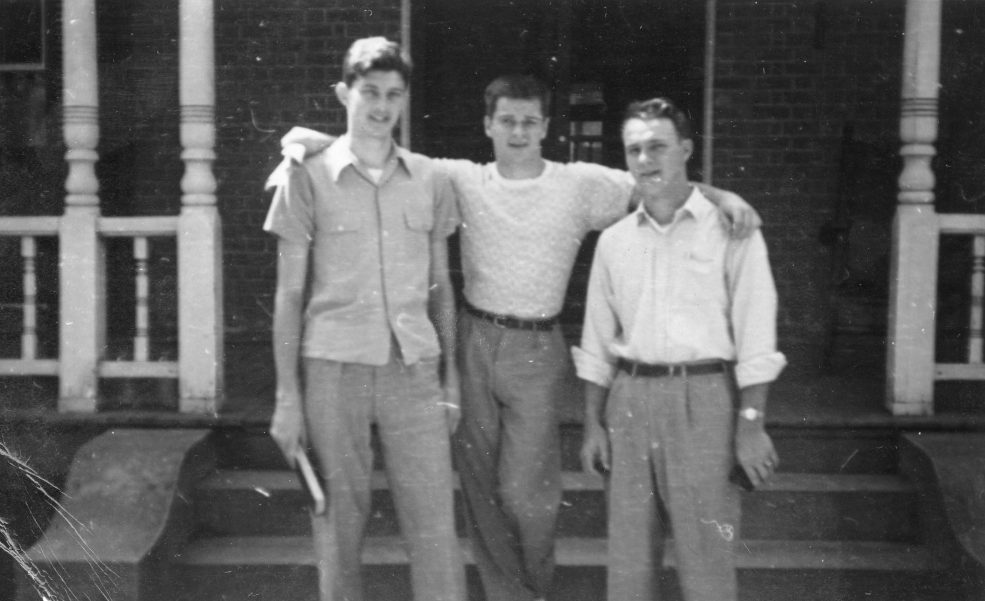 Unknown, Buddy Worsham and Arnold Palmer at Wake Forest
