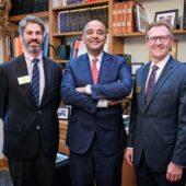 Adam Hyde, Anthony Appiah, Jim Otteson
