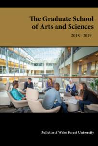 2018-19 Graduate Bulletin