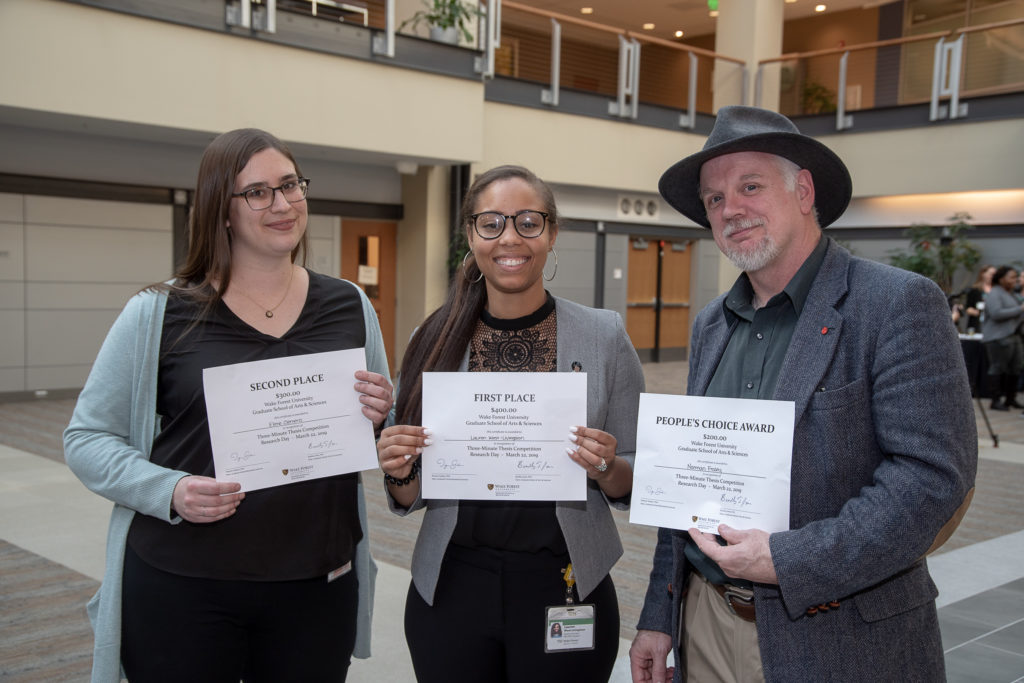 2019 Research Day Winners