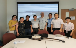 Graduate School Welcomes 2019 University Faculty Summer Workshop Participants in class