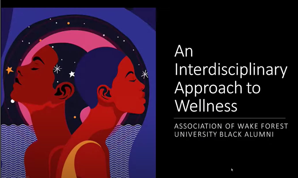 A panel discussion on an interdisciplinary approach to wellness. Hosted by the AWFUBA and recorded on August 22, 2020.