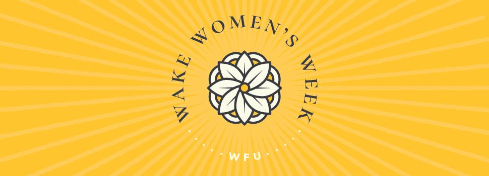 Wake Women's Week header