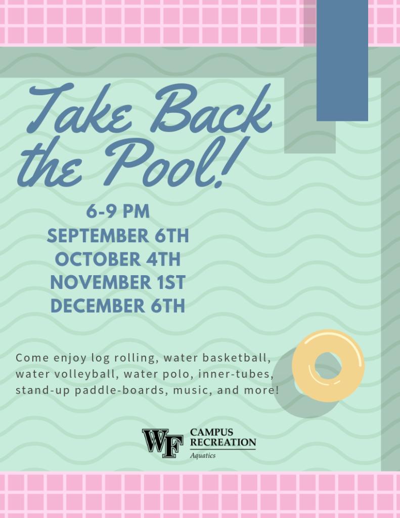 Take Back the Pool Program
