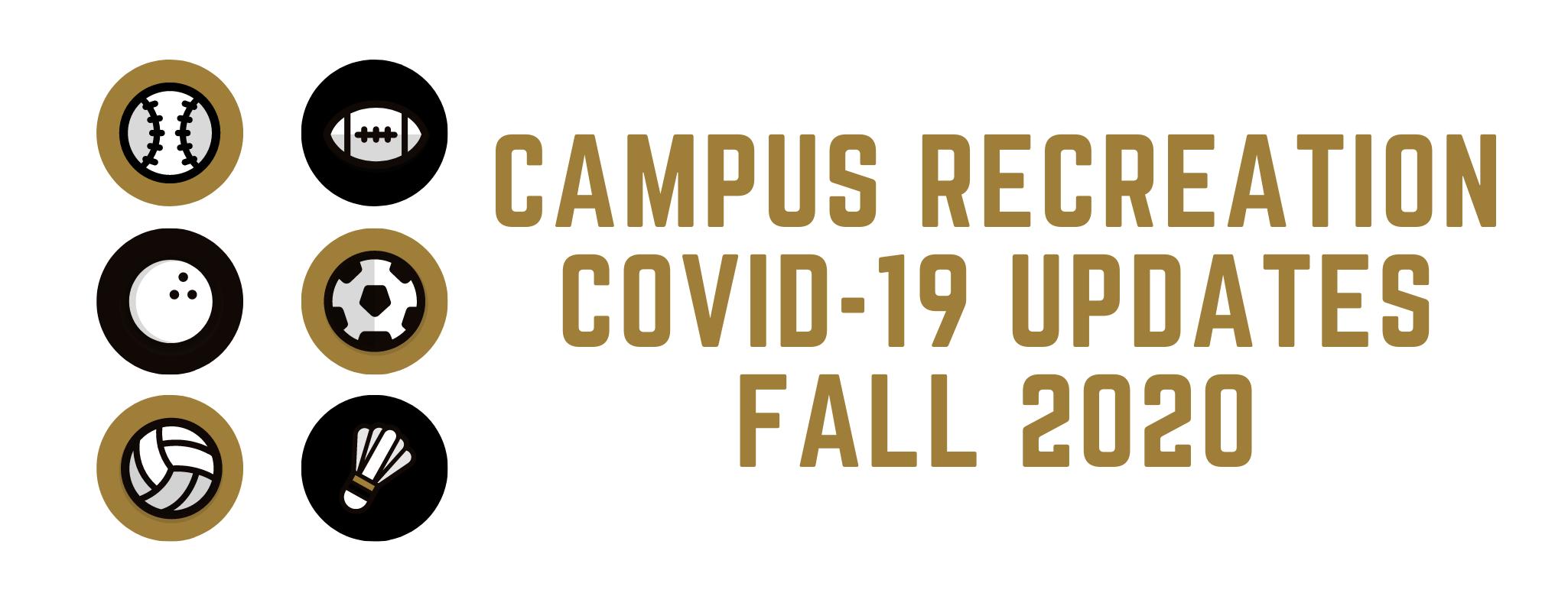 COVID Fall 2020 Updates