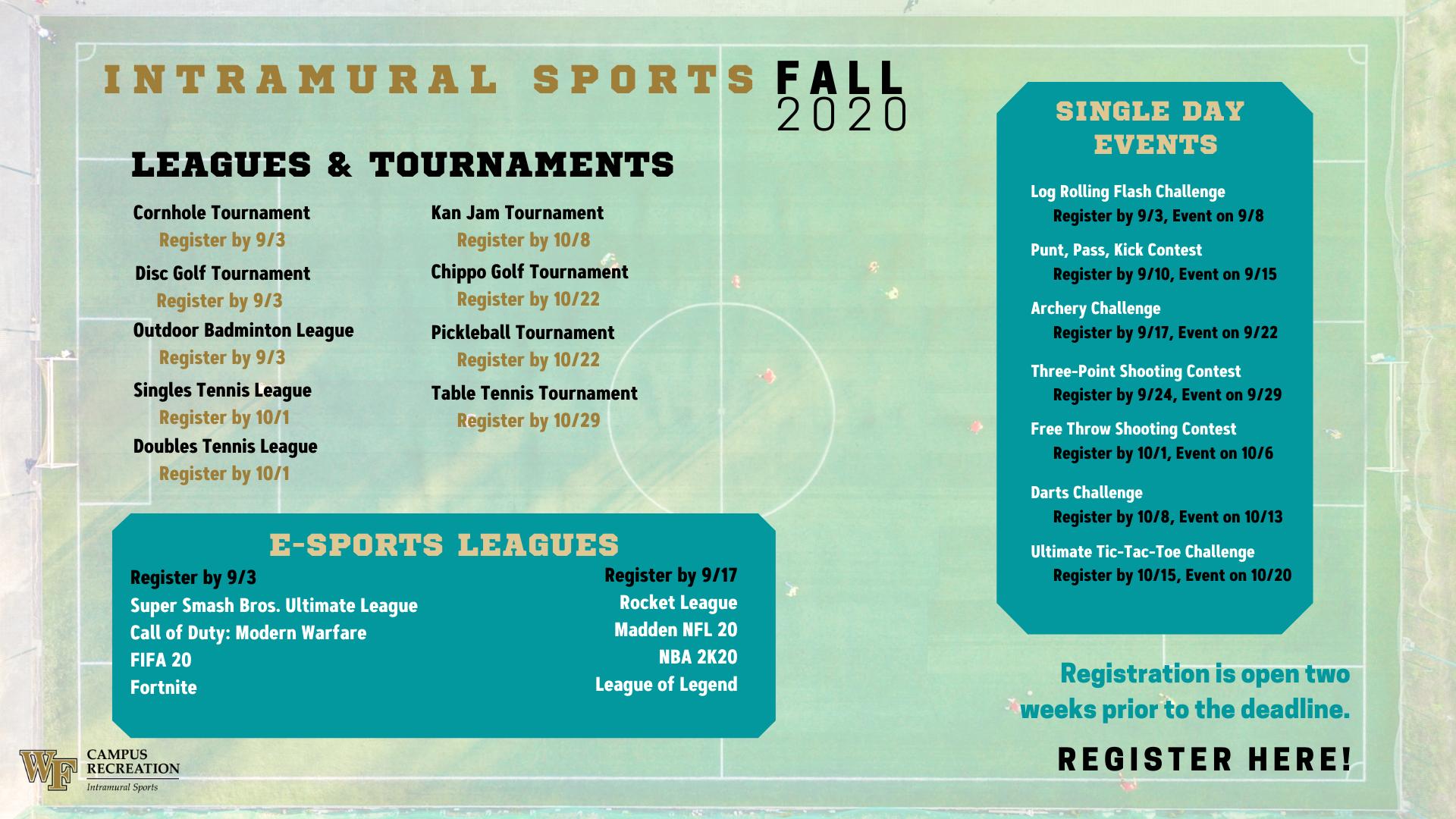 Intramural Sports Campus Recreation