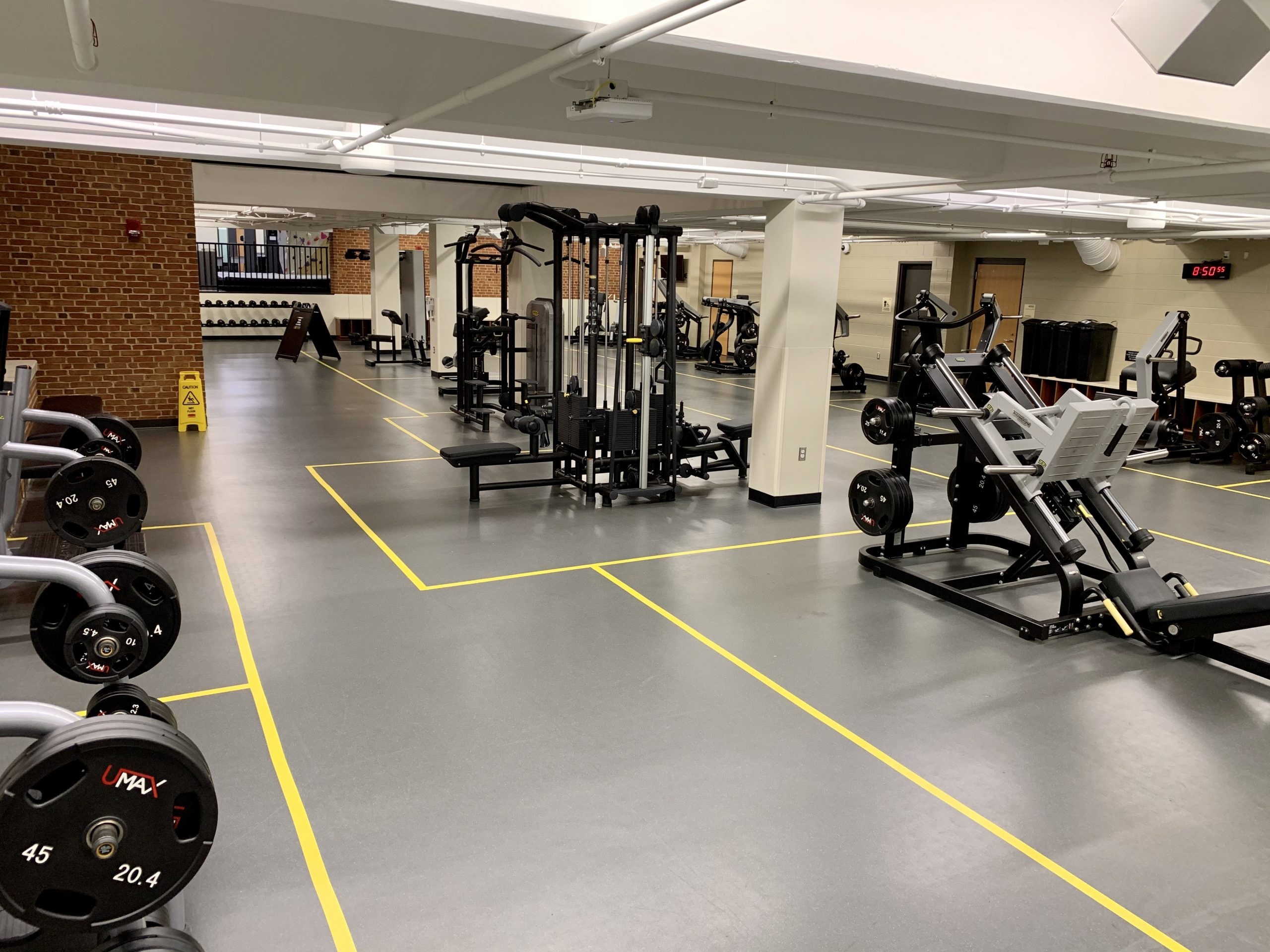 Weight Room Reservations