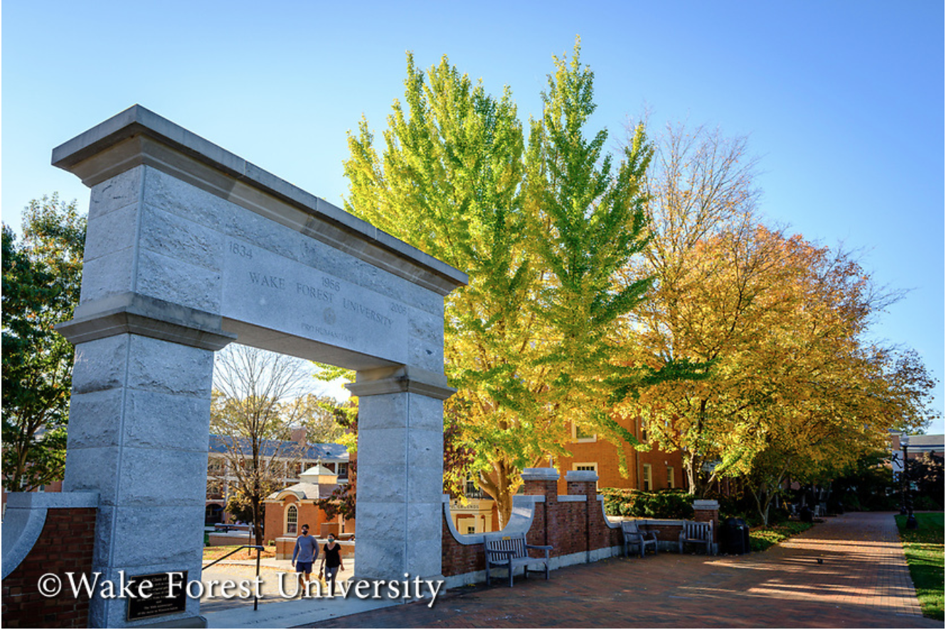 Wake Forest University Campus Image