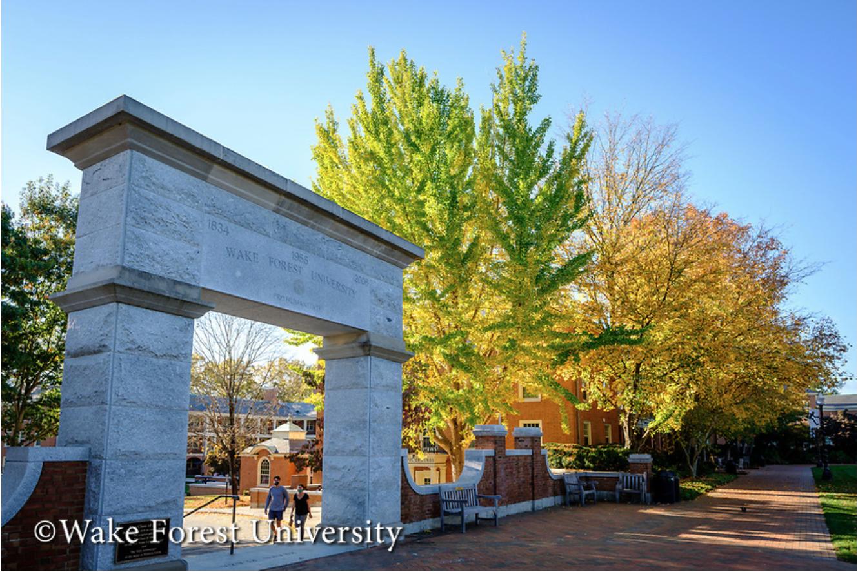 Wake Forest University Campus Image
