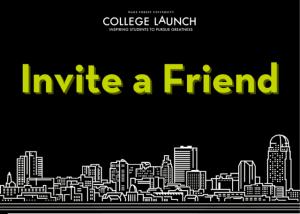 College LAUNCH Refer a Friend