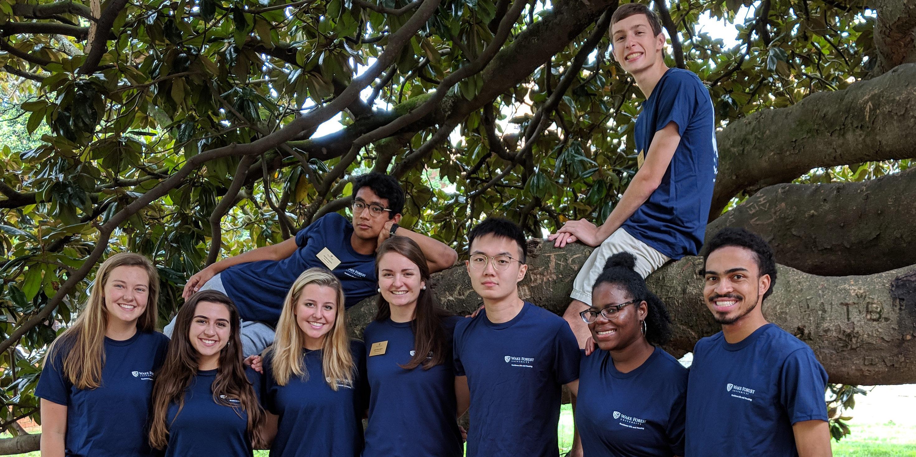 Bostwick Hall Staff Group Photo