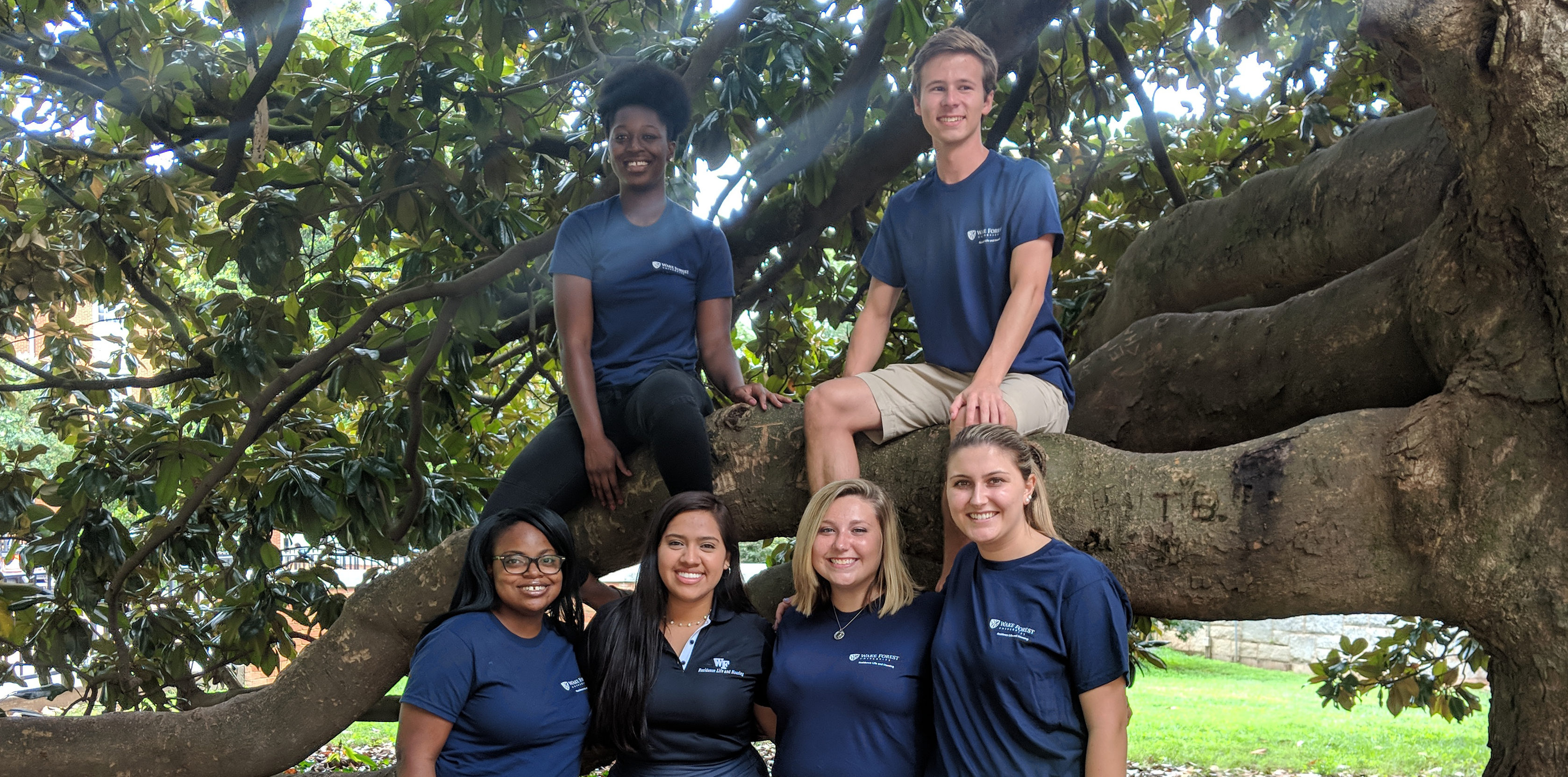 2018-19 Dogwood Hall Staff Group Photo