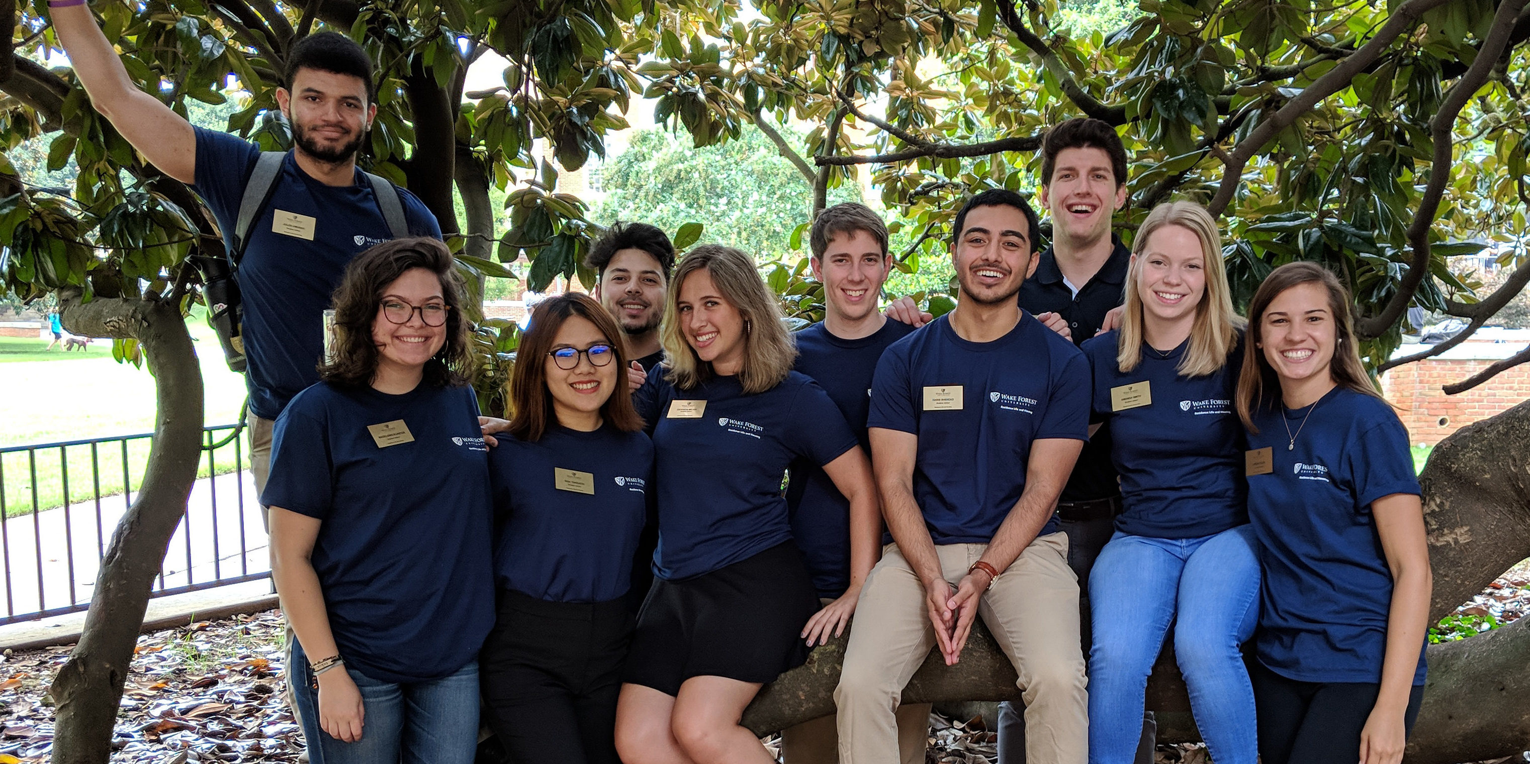 2018-19 Martin, Polo, and Road Houses Staff Group Photos