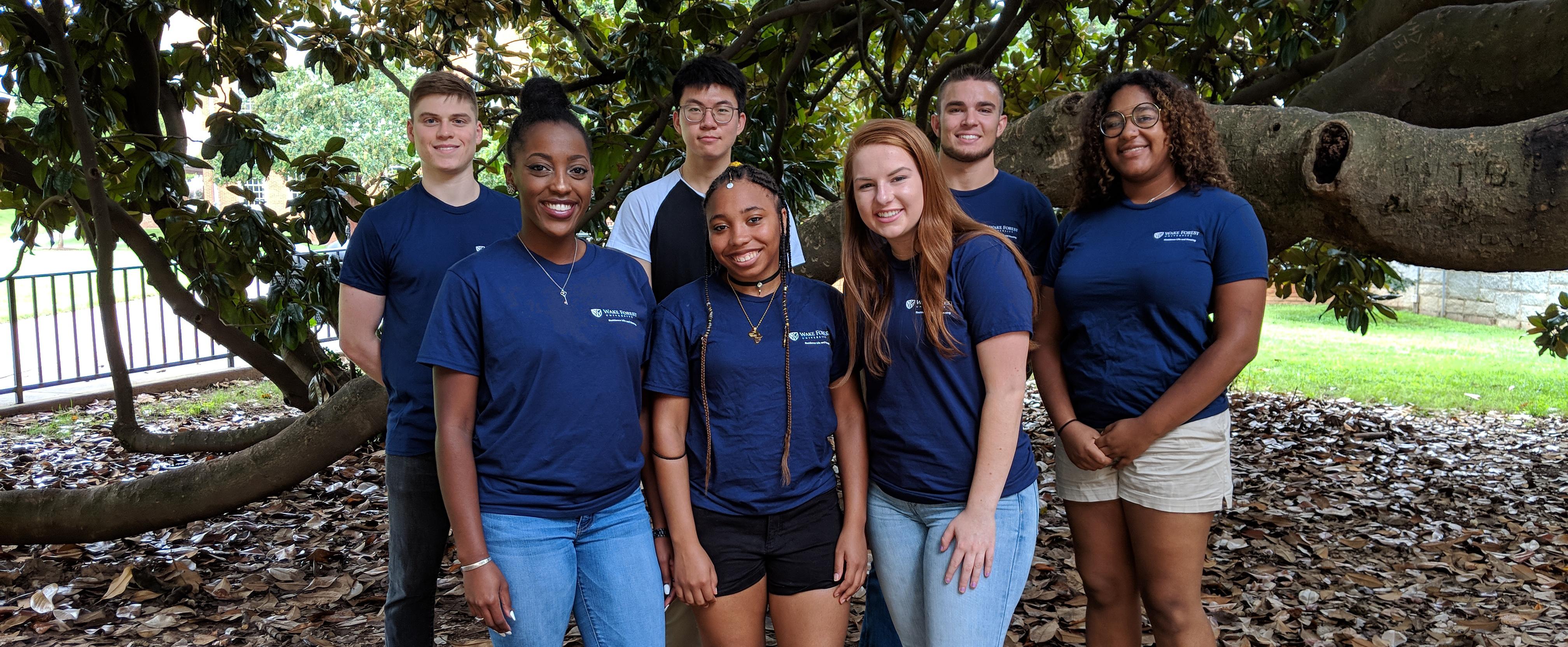 2018-19 South Hall Staff Group Photo