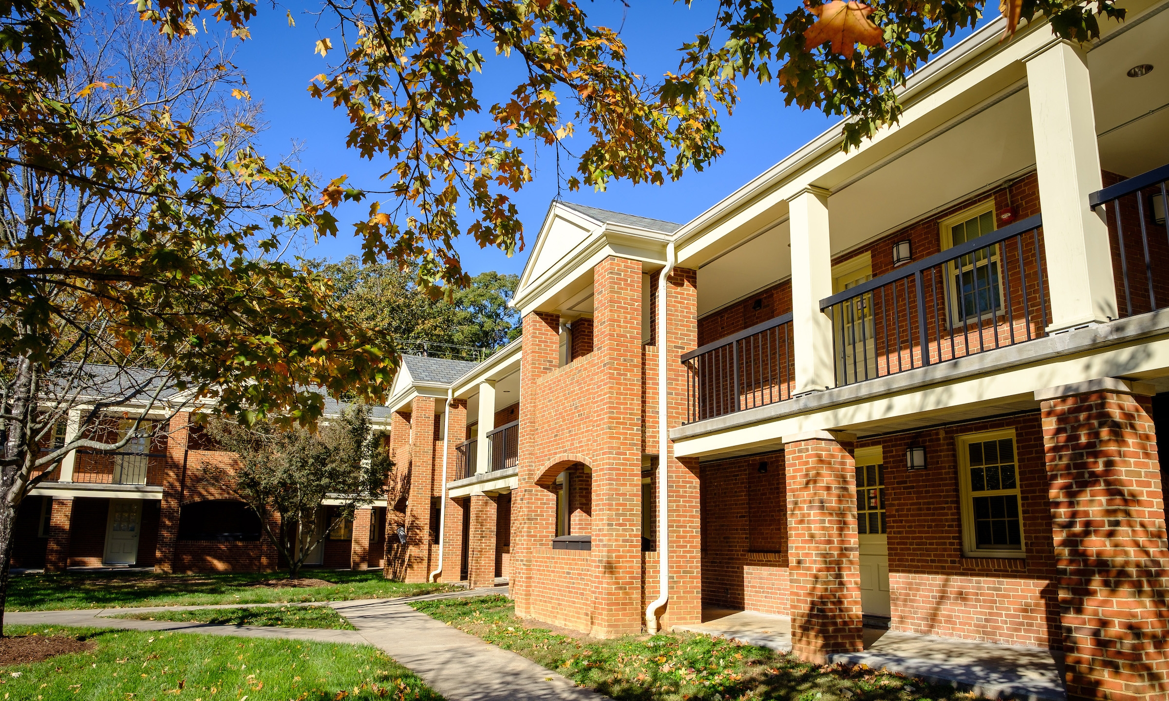 Exterior photograph of Student Apartments