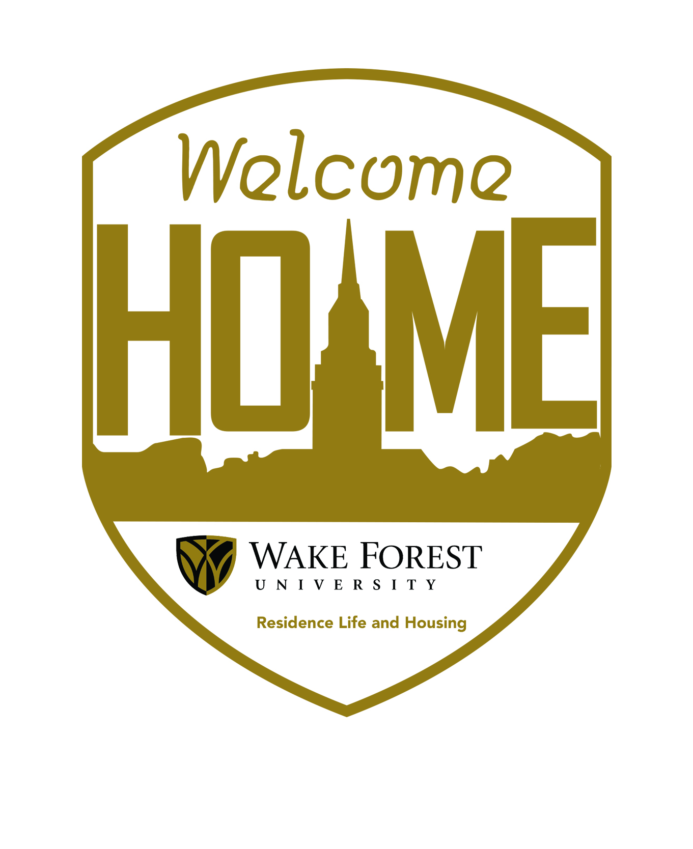 Office Of Residence Life And Housing Welcome Home Gold With Full