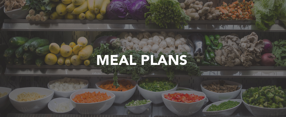 Meal Plans and food options