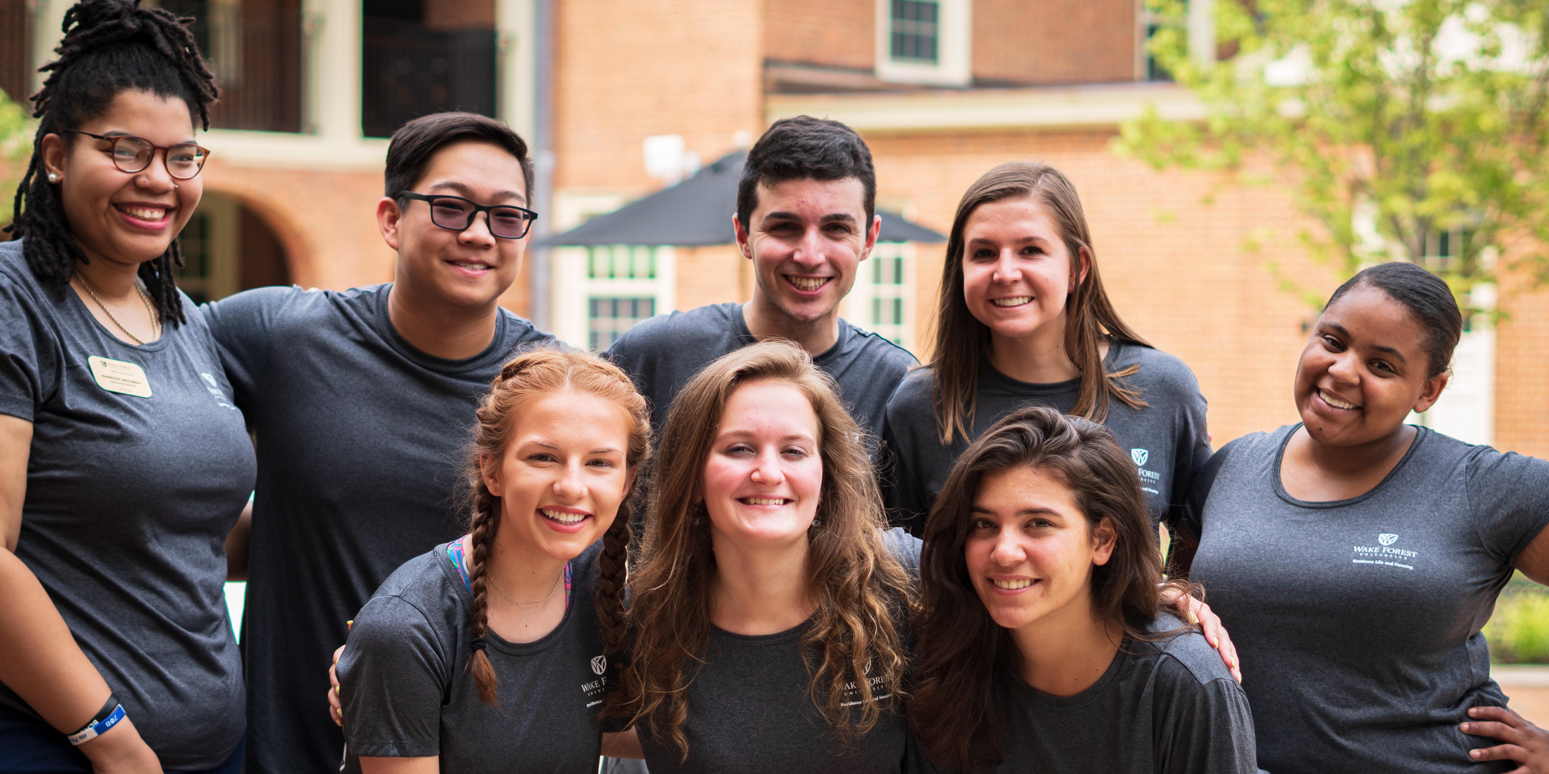 Taylor and Efird Hall Staff Group Photo
