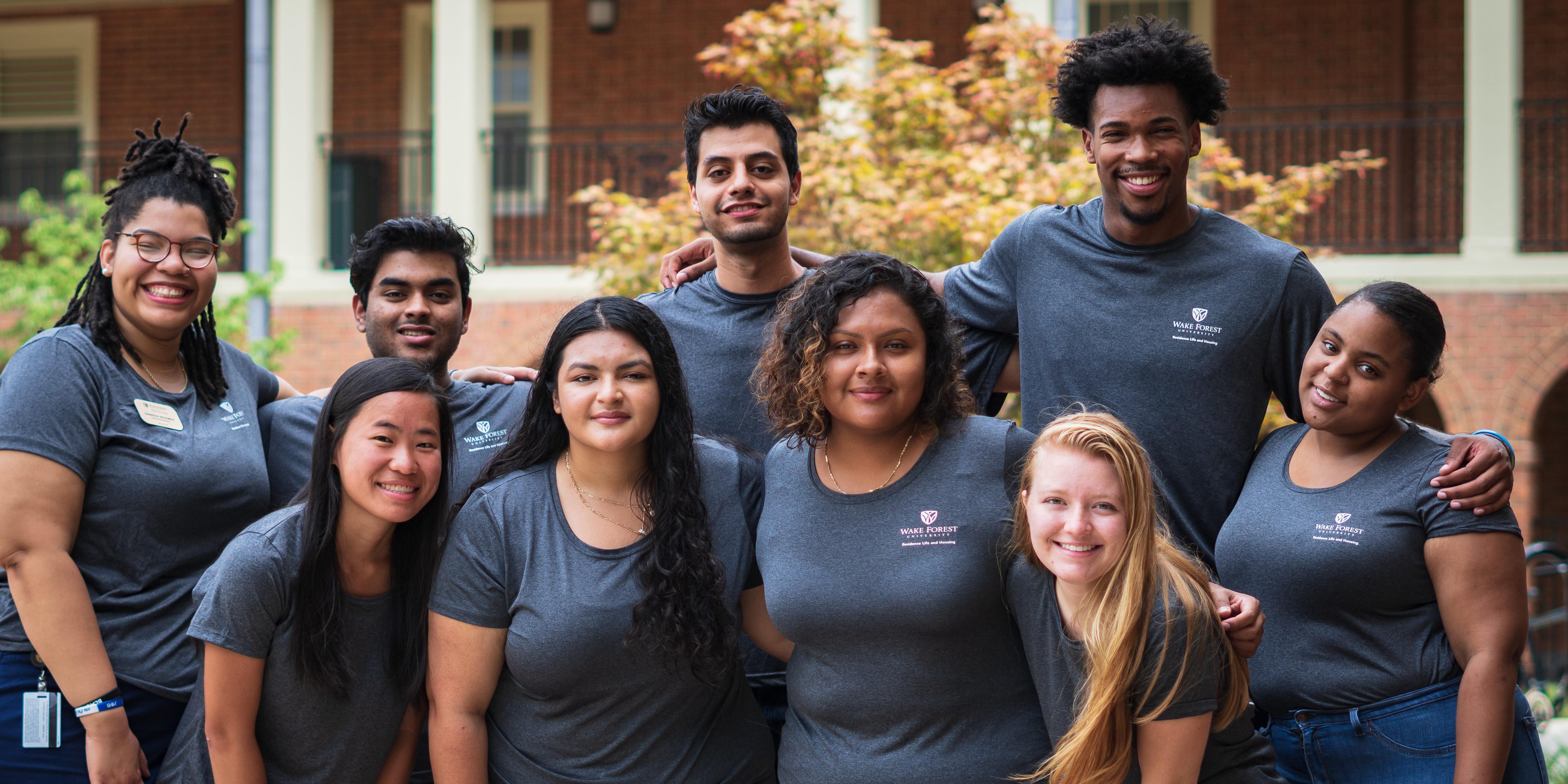Davis Hall Staff Group Photo
