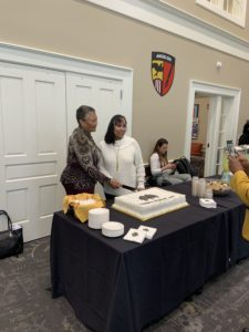 Scenes from the 50th Anniversary of integrated female residence halls reception