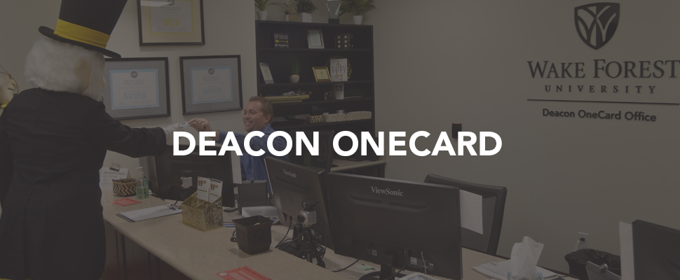 Deacon OneCard information