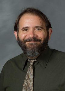 Photo of Dr. David Johnson who was named Emerging Leader for the Association for Humanistic Counseling