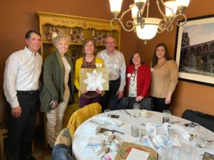 Group of six participants at the C2C in St. Louis on March 10, 2020.