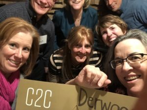 Group of participants from the C2C in Derwood, MD on March 6, 2020
