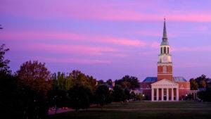 Wait Chapel at Sunset