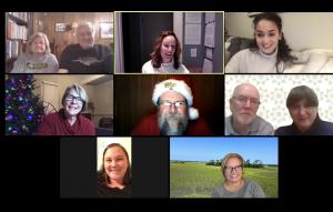 Screenshot of participants in a virtual C2C