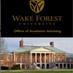Link to WFU's Undergraduate Bulletin, containing all program and course descriptions along with undergraduate policies and procedures.