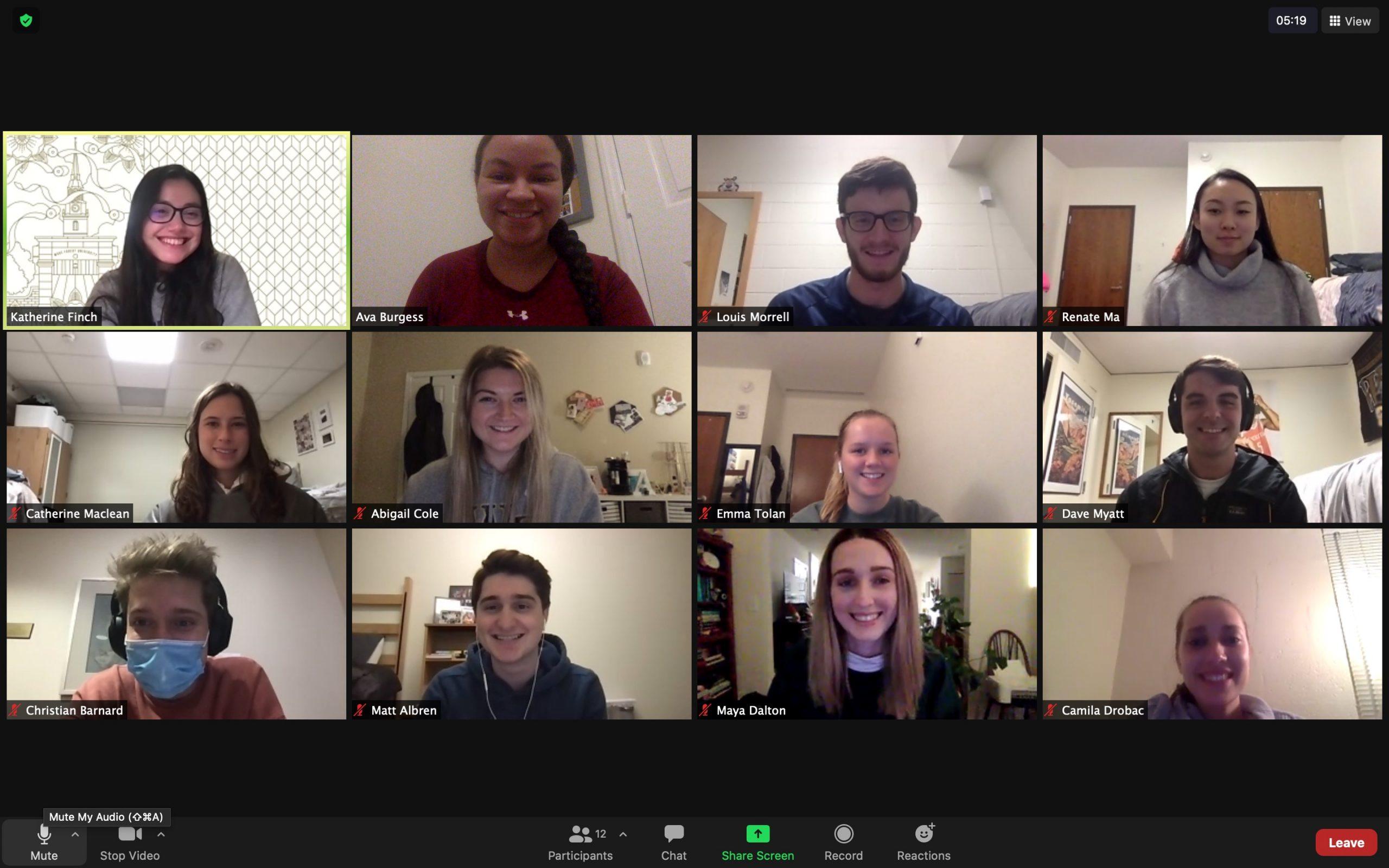 2021 Student Adviser Leadership Council