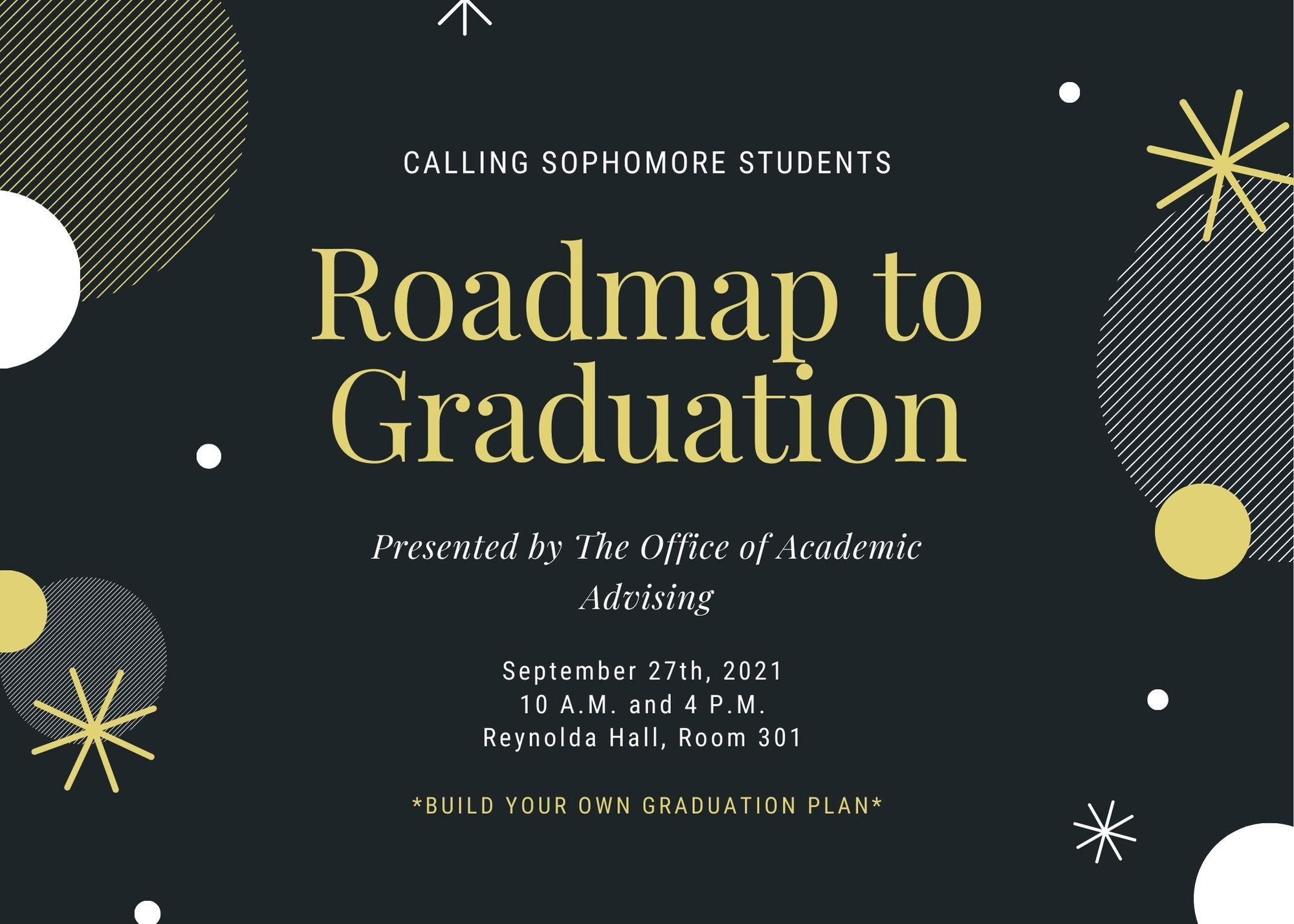 Roadmap to Graduation #2