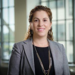 Engineering Department Chair Olga Pierrakos
