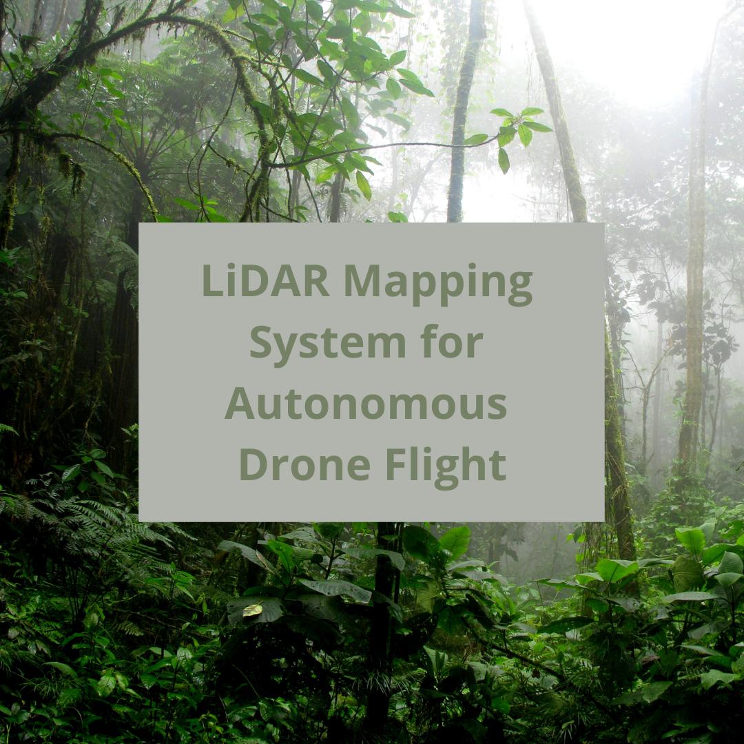 LiDAR Mapping System for Autonomous Drone Flight