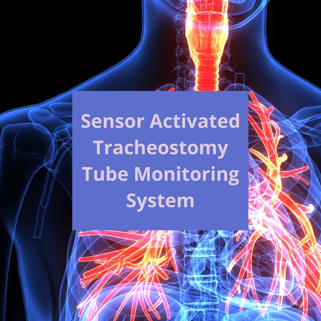 sensor activated tracheostomy tube monitoring system