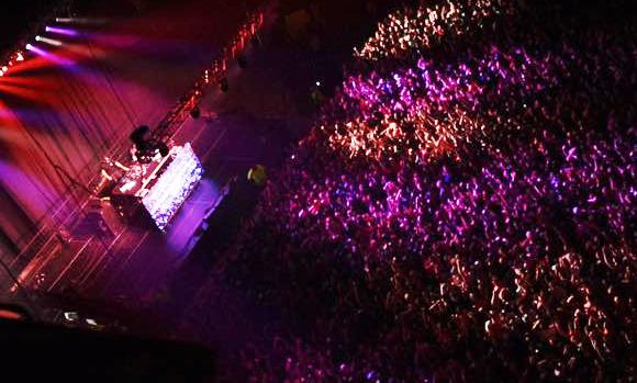 SU concert crowd