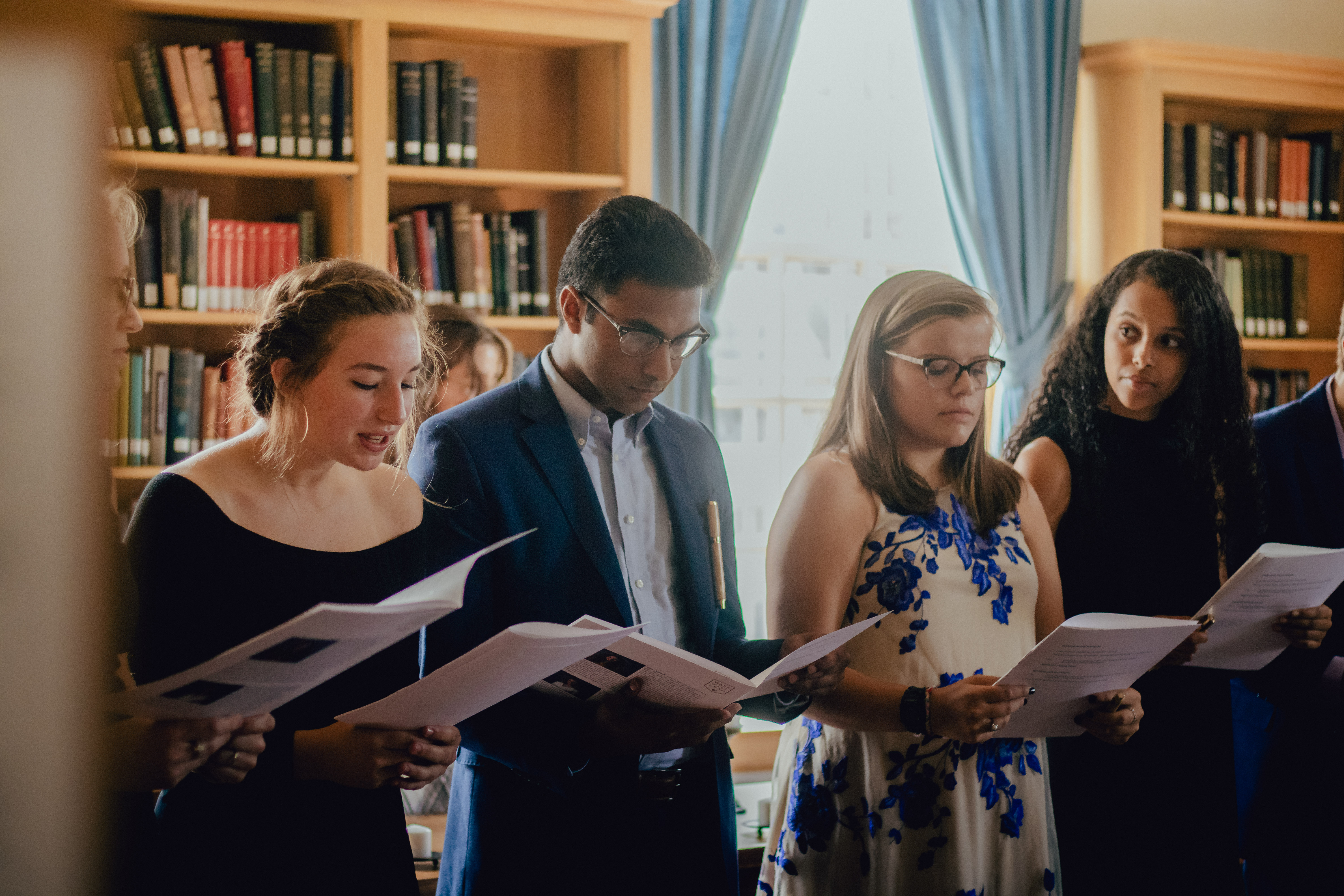 Initiation of Inaugural Class of Leadership and Character Scholars