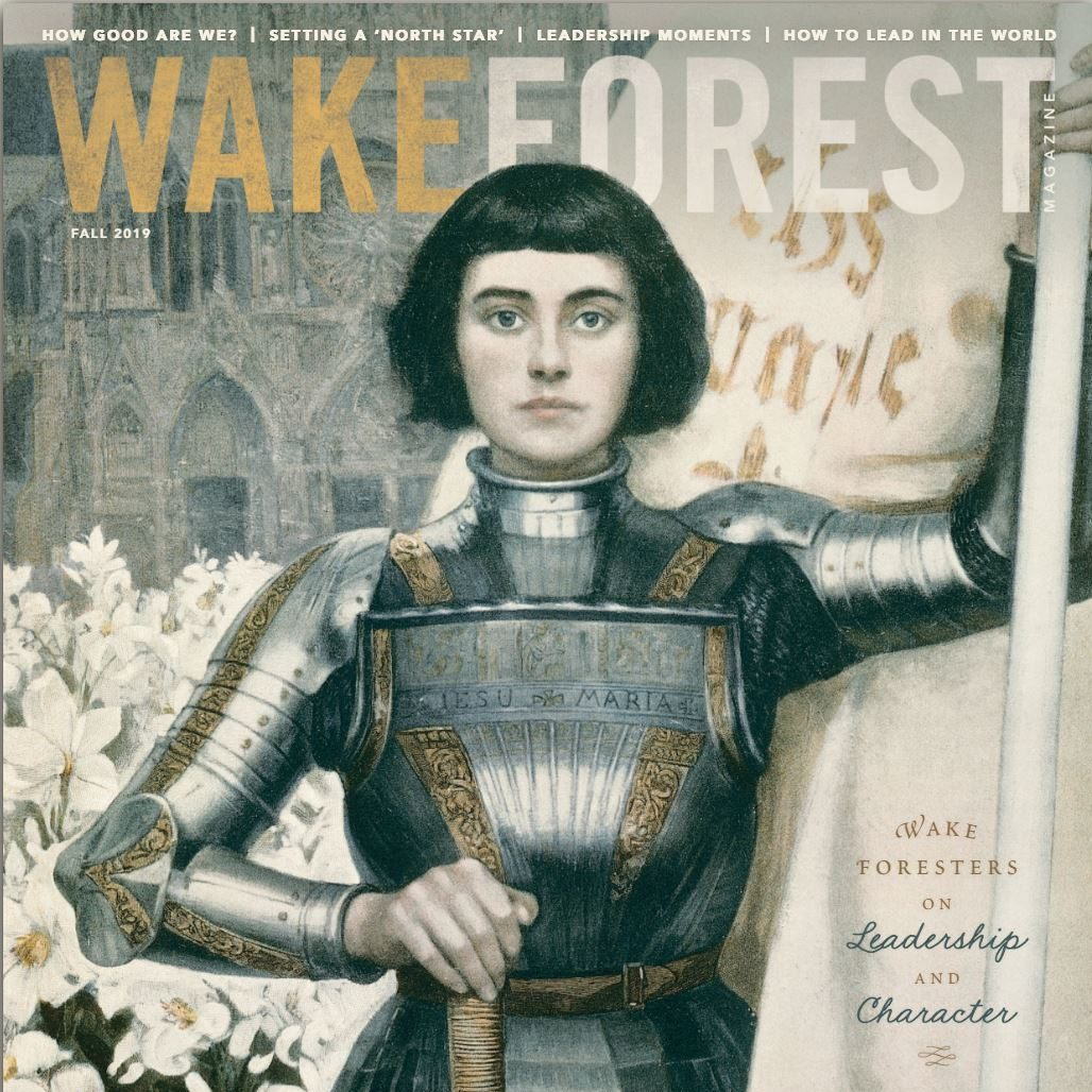 Wake Forest Magazine Fall 2019 Issue Focuses on Leadership and Character