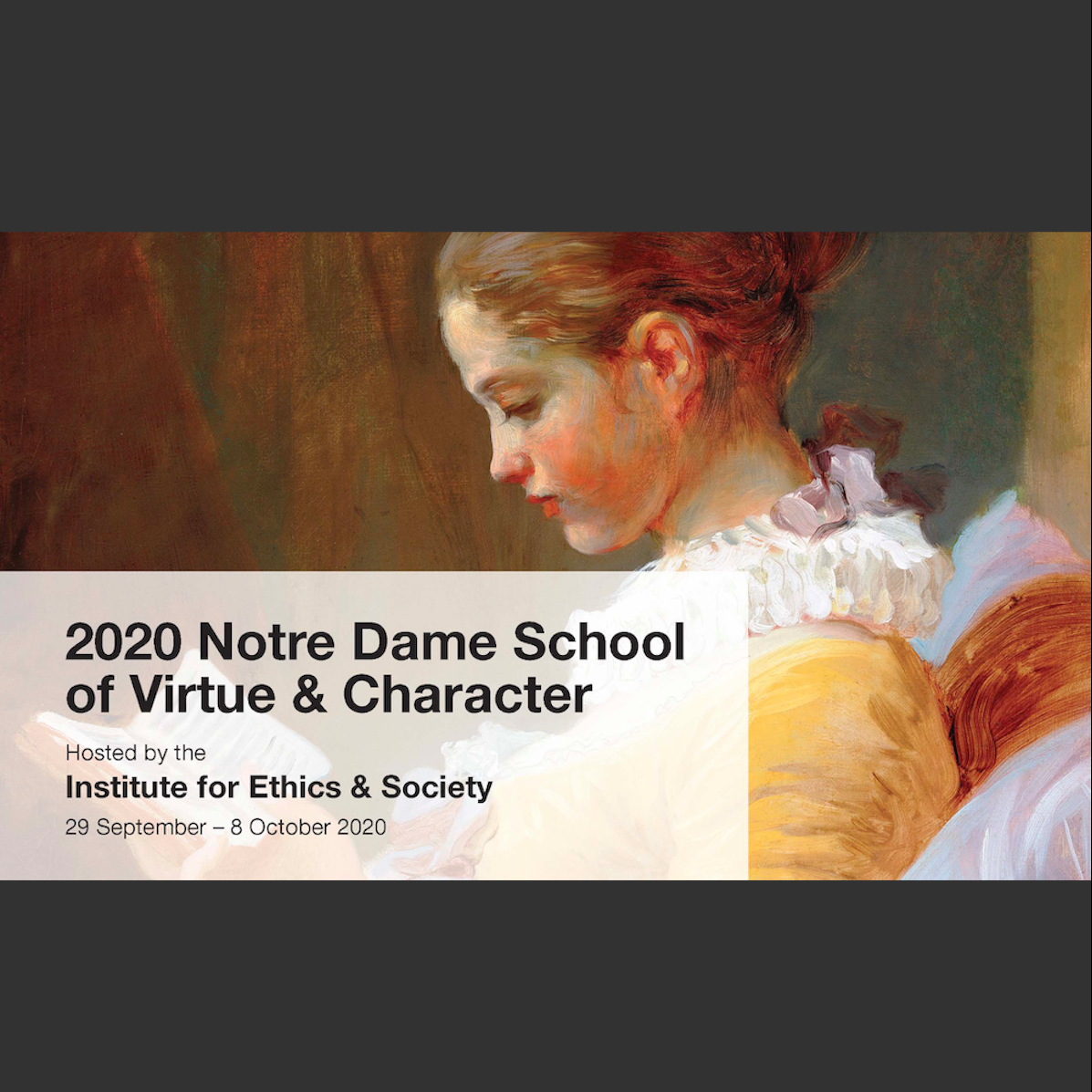Lamb Gives Keynote at School of Virtue and Character in Australia