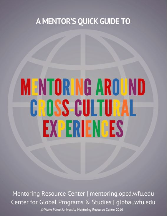Mentoring Around Cross-Cultural Experiences