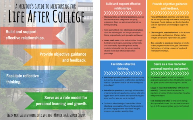 Thumbnail of Mentor's Guide to Mentoring for Life After College