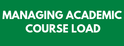 Managing academic course load