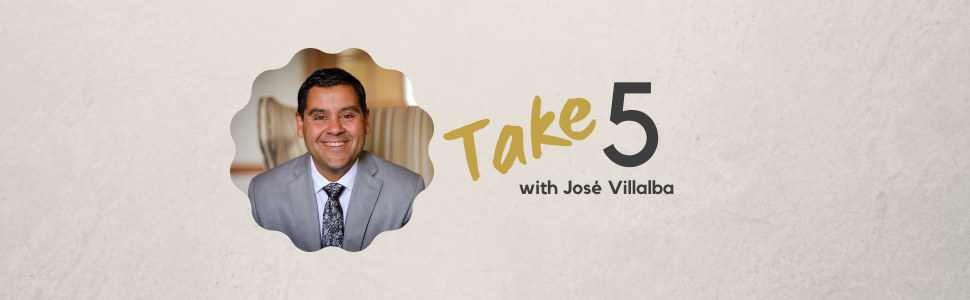Take 5 with Jose Villalba