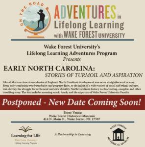 Early North Carolina: Stories of Turmoil and Aspiration