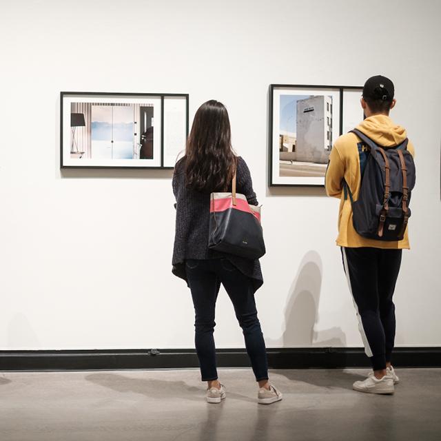 Students study Art
