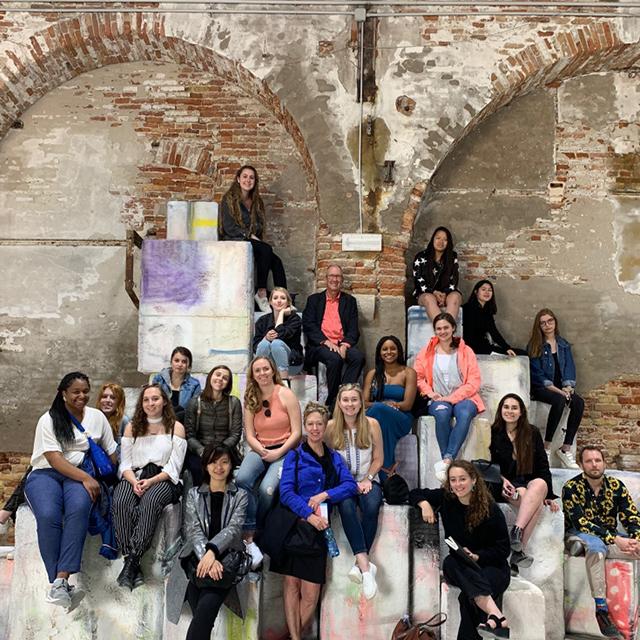Students in Venice